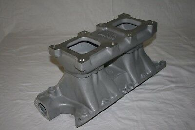 Weiand Tunnel Ram Nos Small Block Ford Sbf 260 289 302 Drag Gasser Vintage Offy