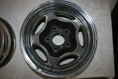 Motor Wheel Spyder Rim 14X6 4.75 Bolt Pattern Chevy Gm Vintage Gasser Drag