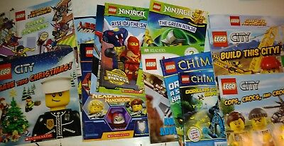 Lot of 19 Lego Children's Picture Books and Leveled readers S5