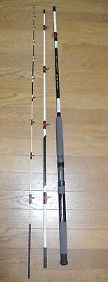 Used fishing spinning rod double carbon MADAI 60-360 from Japan