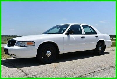 2005 Ford Crown Victoria Police 2005 Ford Crown Victoria ( Police Inteceptor ) No Reserve Auction!