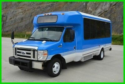 2011 Ford E-450 14 Passenger Airport Shuttle Bus - 1 owner - Low Reserve!