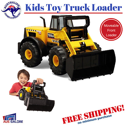 Large Steel Tonka Front Loader Truck Kids Play Sandpit Construction Vehicle Toy