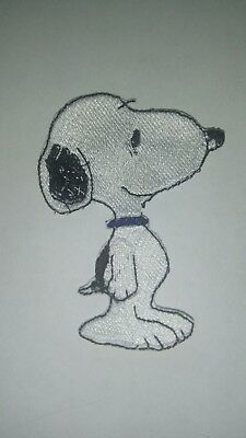 Snoopy Peanuts Embroidered Iron On Patch 2x3