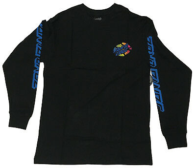 SANTA CRUZ - Slasher Fade Black Longsleeve - NEW - SMALL ONLY