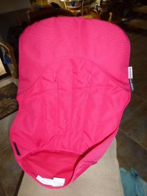 Bugaboo Cameleon Stroller Canvas Seat Base Cover liner Pink EUC