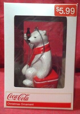 Coca-Cola Polar Bear Ornament Made in 2013