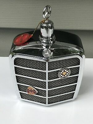 Vintage 1968 Royal London Mercedes Grill Decanter Working Music Box