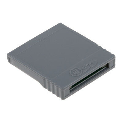 Video Game SD Memory Card Converter Adaptor For Nintendo Wii GameCube Console AU