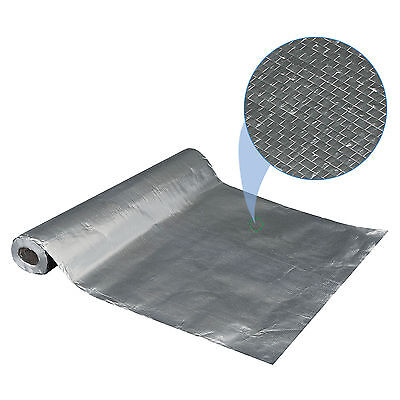 4'x500' Radiant Barrier Solar Attic Aluminum Foil Reflective Insulation 2000sqft