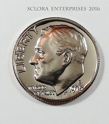 1975 S Roosevelt *proof* Dime **free Shipping**