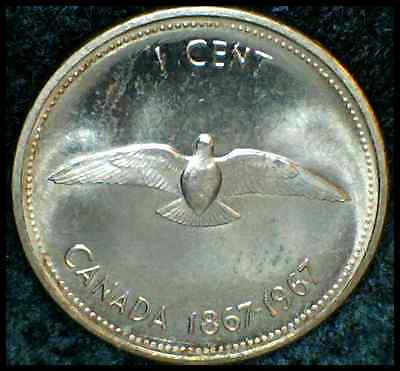 1967 Canadian One Cent