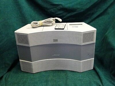Bose Acoustic Wave Music CD 3000 System White Working Remote