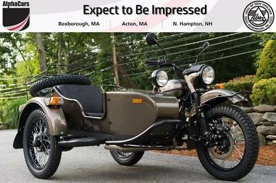 2017 Ural Gear Up 2WD Bronze Metallic Custom  New Generation Parking Brake Brembos Reverse Gear Financing & Trades