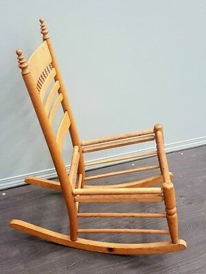 Early Canadian Rocking Chair