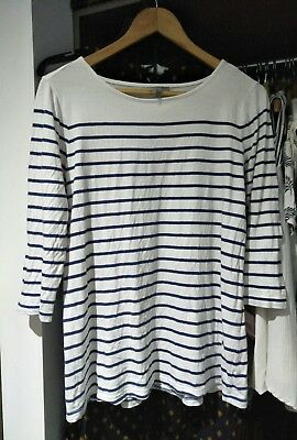 asos maternity long sleeved top size 10