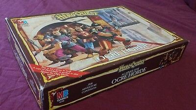 Heroquest / Hero Quest Against The Ogre Horde Pacific Version