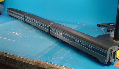 """Bh S Scale Southern Pacific """"lark Club"""" Diner Lounge 3 Unit Articulated Cars Wow"""