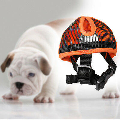 Short Nose Dog Mesh Muzzle For Pugs and Flat Faced Dogs