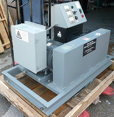 Visicomm Electrocon Frequency Converter / Stamford Newage Motor Generator 2005