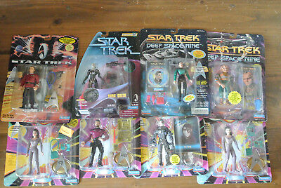 Star Trek Playmates various: lot of 8