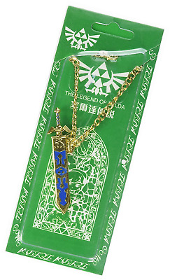 Oliasports The Legend of Zelda Link Master Sword Keychain/Necklace Cosplay Acces