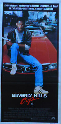 BEVERLY HILLS COP original Australian DAYBILL movie poster - EDDIE MURPHY