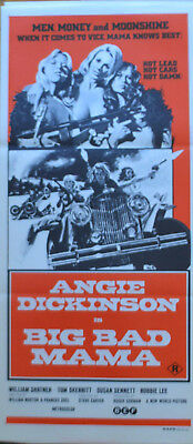BIG BAD MAMA  - original Australian DAYBILL movie poster - ANGIE DICKINSON