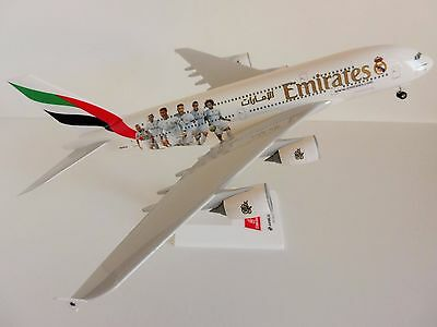 Emirates Real Madrid Airbus A380-800 1/200 SKR880 Skymarks A6-EOA
