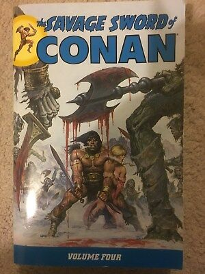 The Savage Sword Of Conan Volume Four