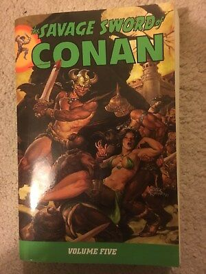 The Savage Sword of Conan Volume Five