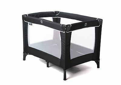 Travel Baby Crib Cot Sleeptight Travel Cot (Black) Black Portable Traveling Cot