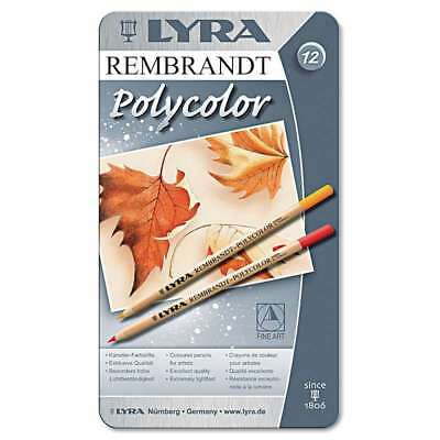 LYRA Artist Colored Woodcase Pencils, Assorted, 12/Pack 084900170308