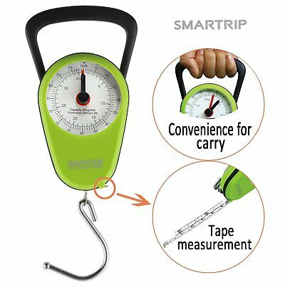 Smartrip Stop and Lock Manual Luggage Scale Mechanical Hanging Scale with Built