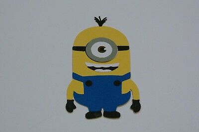 Minion- Stuart Fully Assembled Die Cut