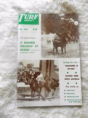 Turf Monthly July 1960
