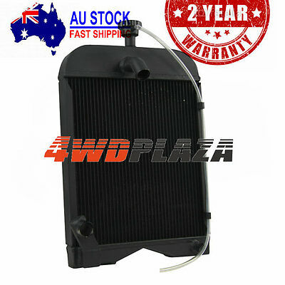 "AUS 3 ROW CORE Aluminium Tractor Radiator FOR Ford 2N 8N 9N with Cap ""8N8005"" AU"