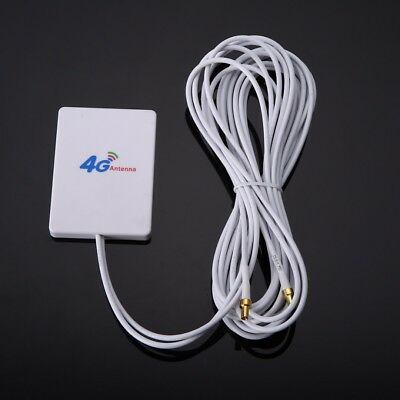 2.9m 28dBi 4G 3G LTE 2x TS9 Broadband Antenna Signal Amplifier For Mobile Router