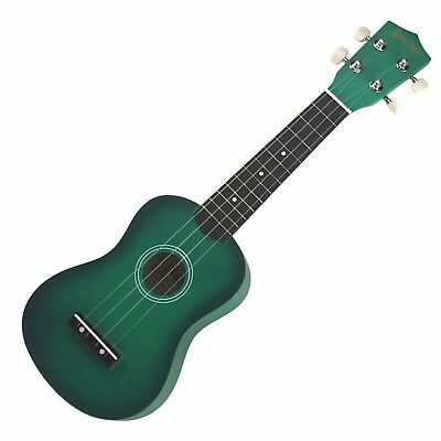 NEW Sanchez Soprano Ukulele 4 String Beginner Kids Uke (Green)