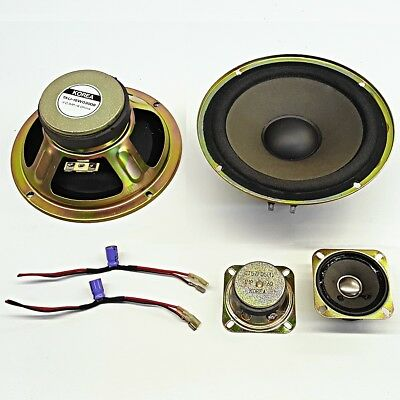 Pair of tweeters and 6 inch Speakers  - PA Hifi DIY Replacement Part crossover