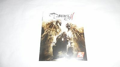 DARKNESS II (2) : INSTRUCTION MANUAL (BOOKLET) ONLY , ps3