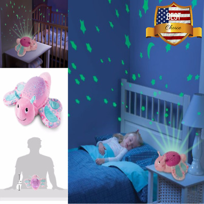 Bella Butterfly Slumber Wall Projector & Melodies Kids Night Light Bed Room NEW