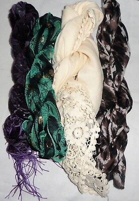 Joblot of Ladies Scarfs as pictures, Having a clearout