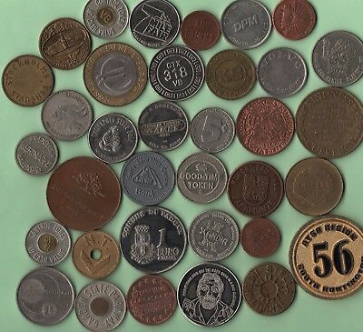 Germany Scandia Volvo CA State Fair Shell Stella Heineken Stockholm token lot