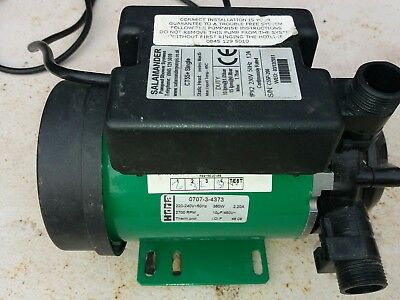 salamander CT55+ single impeller shower booster pump