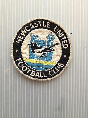 Original Vintage 2000s Sew On Patch Newcastle  united Cloth Badge