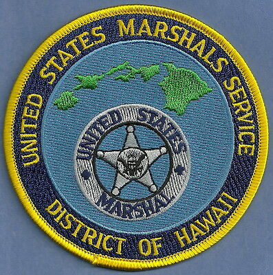 United States Marshal Service Hawaii Police Patch