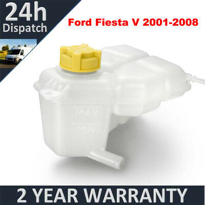 For Ford Fiesta V 2001-2008 Engine Coolant Expansion Header Tank Bottle W/ Cap