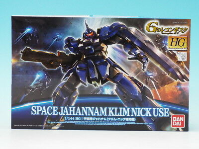 Bandai HG Reconguista in G G006 GUNDAM Space Jahannam 948489 1//144 scale kit