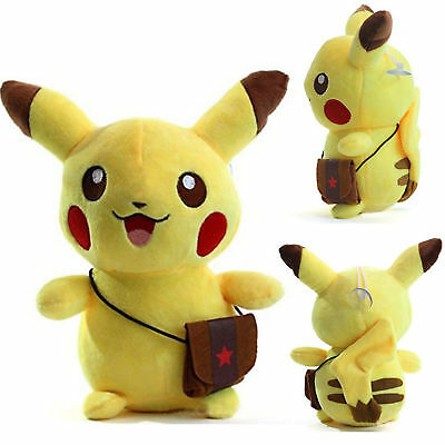 1pc Pokemon go pikachu Plush Doll Soft Toys Stuffed Teddy Kids Gift New
